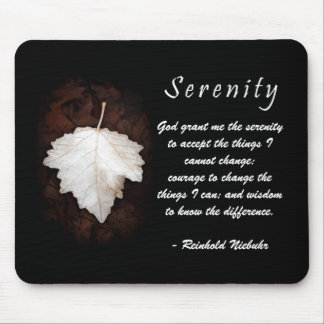 Serenity Inspirational Mousepad
