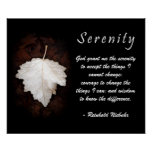 Serenity Inspirational Poster