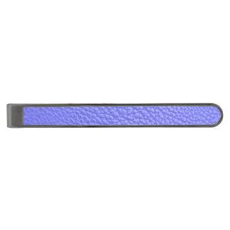 Serenity Leather-look Gunmetal Finish Tie Bar