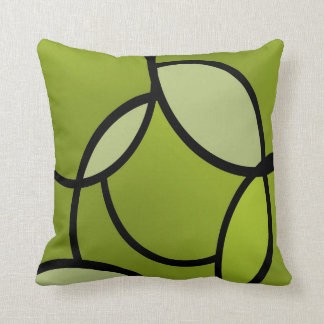 Serenity Lime Throw Pillow