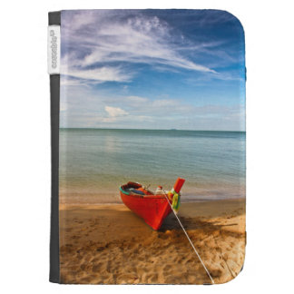 """Serenity - Little Red Boat""  case for Kindle"