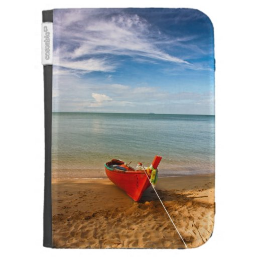 """""""Serenity - Little Red Boat""""  case for Kindle"""