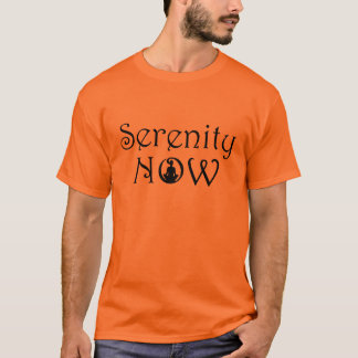 Serenity Meditation T Shirt - Unique Yoga Gifts