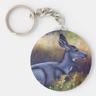 Serenity Mule Doe Keychain