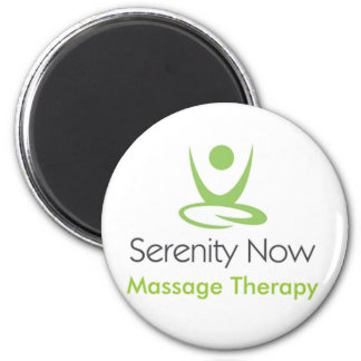 Serenity Now Massage Therapy Magnet