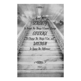 SERENITY on the Stairway To Heaven Poster