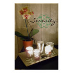 Serenity Orchid Poster