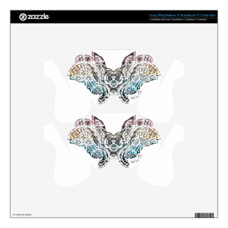 Serenity Owl PS3 Controller Skin