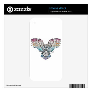 Serenity Owl Skin For The iPhone 4