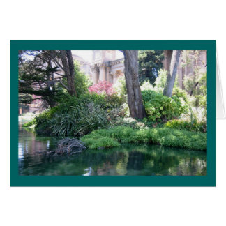 Serenity Palace of Fine Arts Greeting or Note Card