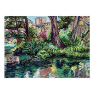 """Serenity"" Palace of Fine Arts Painting Print"