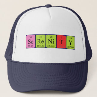 Serenity periodic table name hat