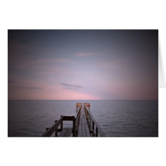 Serenity Pier Card