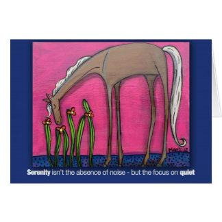 Serenity Pony Card