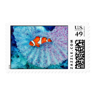 Serenity Postage Stamp