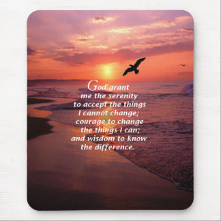 Serenity Prayer 3 Mouse Pad