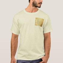 Serenity Prayer Abstract Sunflower T-Shirt
