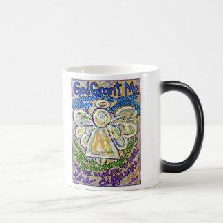 Serenity Prayer Angel Mug or Cup