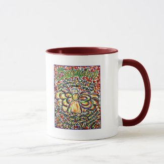 Serenity Prayer Angel (Spanish Text) Mug