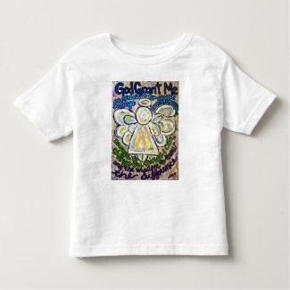 Serenity Prayer Angel T-shirt (Double Angels)