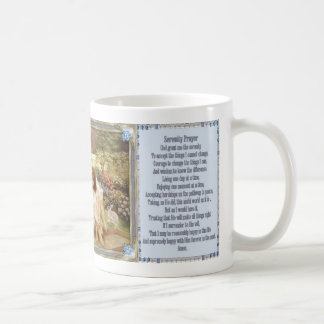 Serenity Prayer Angelic Garden Mugs
