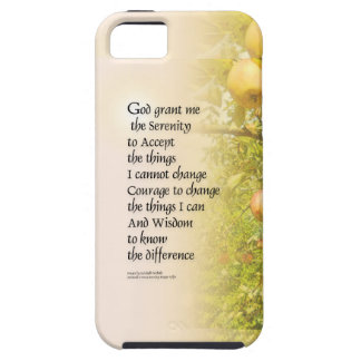 Serenity Prayer Apple Branches iPhone 5 Cover
