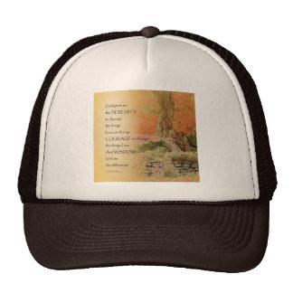 Serenity Prayer Autumn Harmony Trucker Hat