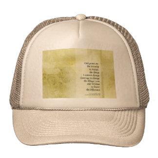 Serenity Prayer Azalea Gentle Trucker Hat
