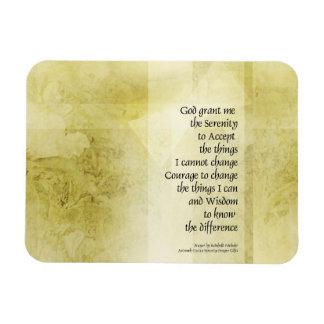 Serenity Prayer Azalea Gentle Vinyl Magnets