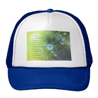 Serenity Prayer Bachelor's Buttons Trucker Hat
