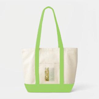 Serenity Prayer Bamboo Garden Tote Bag