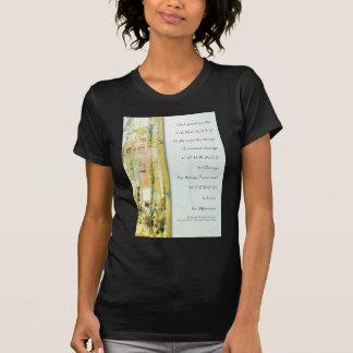 Serenity Prayer Bamboo Garden T Shirt