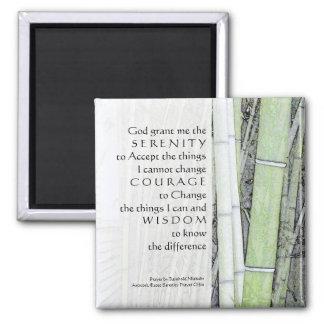 Serenity Prayer Bamboo Magnet