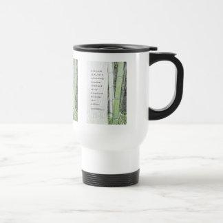 Serenity Prayer Bamboo Travel Mug