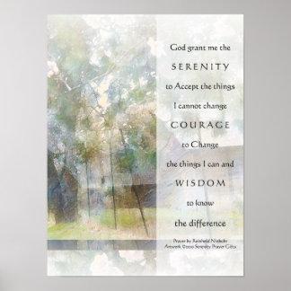 Serenity Prayer Barns Print