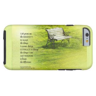 Serenity Prayer Bench Tough iPhone 6 Case