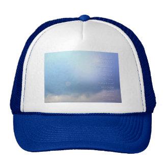 Serenity Prayer Blue Beyond Hats