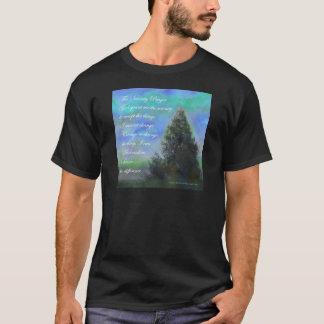 Serenity Prayer Blue Green T-Shirt