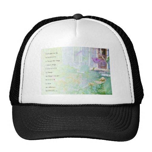 Serenity Prayer Blue House & Garden Mesh Hat