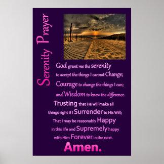 Serenity Prayer BoardWay Poster