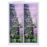 Serenity Prayer Bookmarks Card