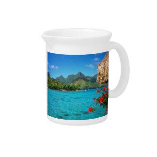 Serenity Prayer & Bora Bora 2-SIDED Pitcher