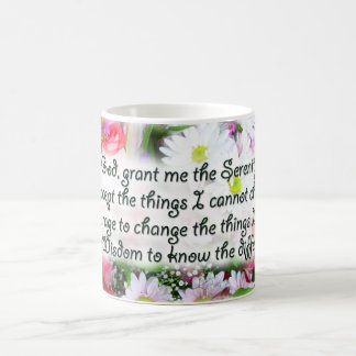 Serenity Prayer Bouquet Coffee Mug