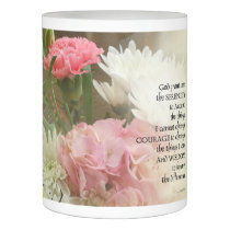 Serenity Prayer Bouquet Flameless Candle