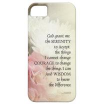 Serenity Prayer Bouquet iPhone SE/5/5s Case