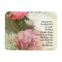 Serenity Prayer Bouquet Magnet