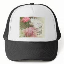 Serenity Prayer Bouquet Trucker Hat