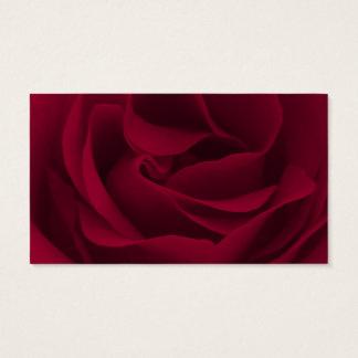 Serenity Prayer Burgundy Rose Business Card