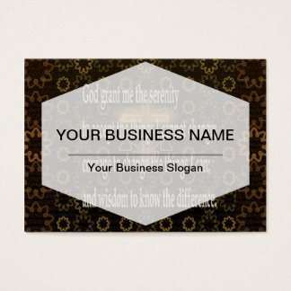 Serenity Prayer Business Card