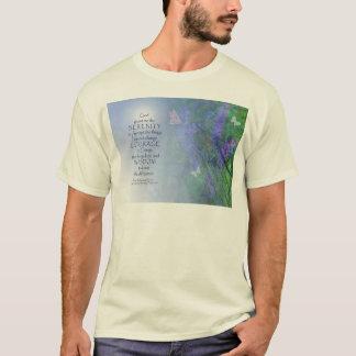 Serenity Prayer Butterflies & Vetch T-Shirt